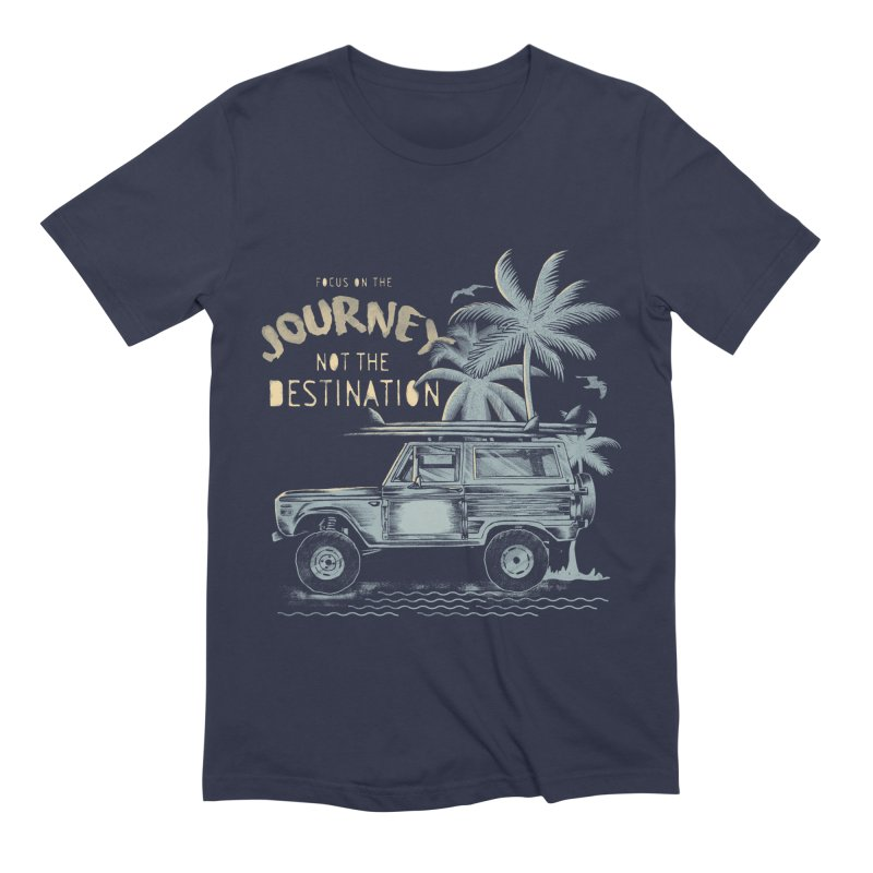 Journey Men's Extra Soft T-Shirt by jackduarte's Artist Shop