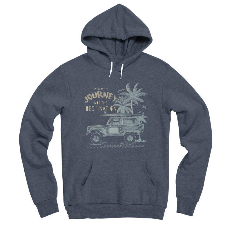 Journey Men's Sponge Fleece Pullover Hoody by jackduarte's Artist Shop