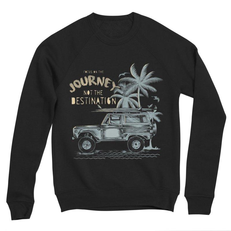 Journey Women's Sponge Fleece Sweatshirt by jackduarte's Artist Shop