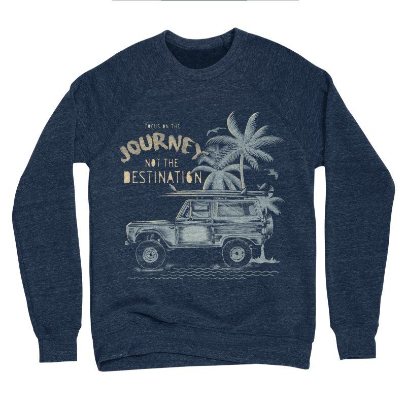 Journey Men's Sponge Fleece Sweatshirt by jackduarte's Artist Shop