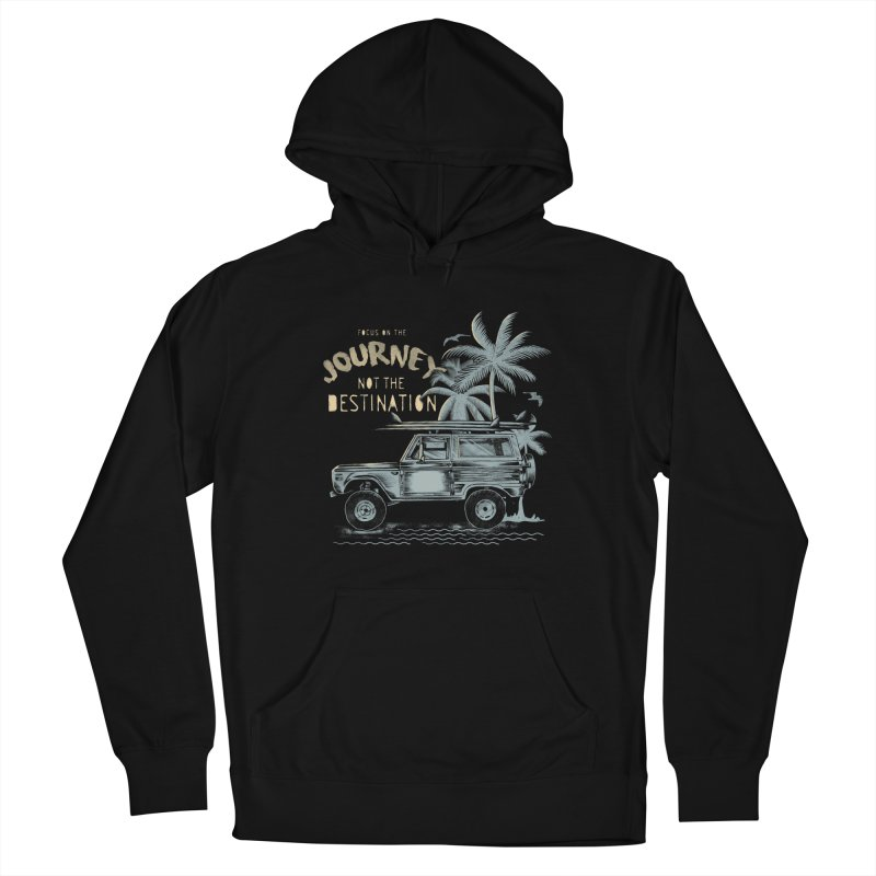 Journey Women's French Terry Pullover Hoody by jackduarte's Artist Shop