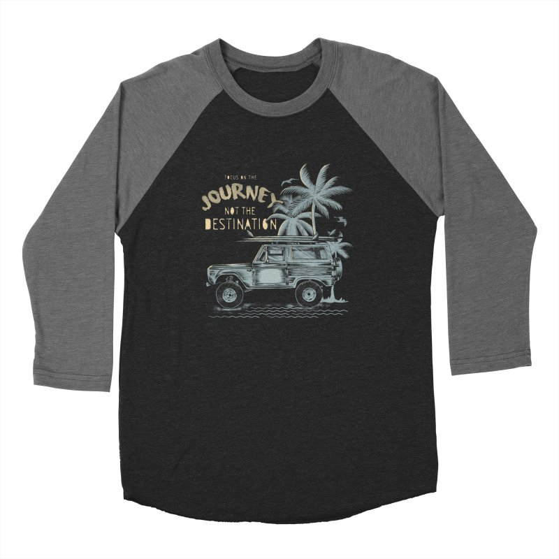 Journey Women's Baseball Triblend Longsleeve T-Shirt by jackduarte's Artist Shop