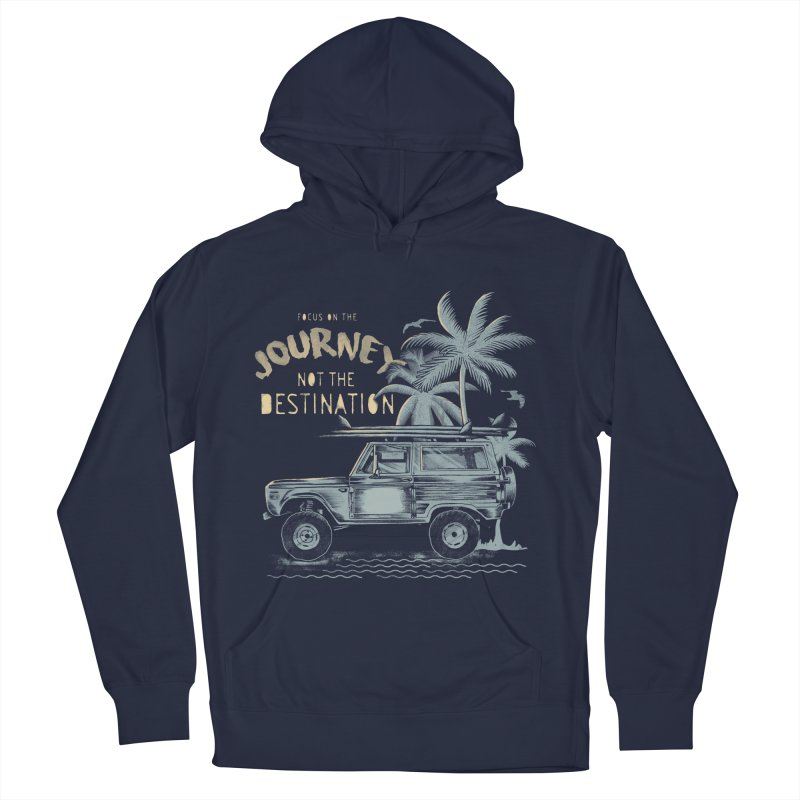 Journey Men's French Terry Pullover Hoody by jackduarte's Artist Shop
