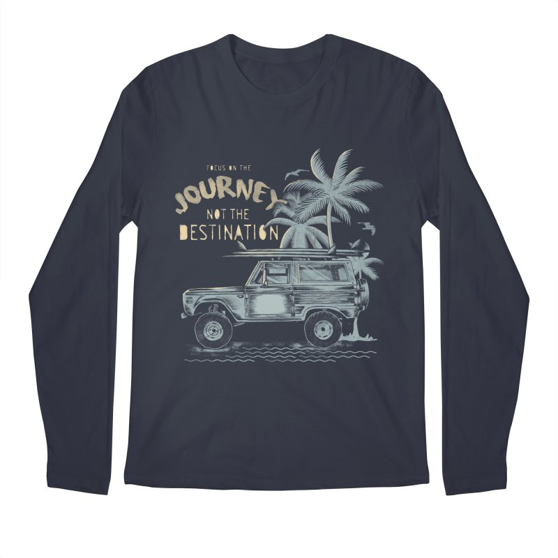 Journey Men's Regular Longsleeve T-Shirt by jackduarte's Artist Shop
