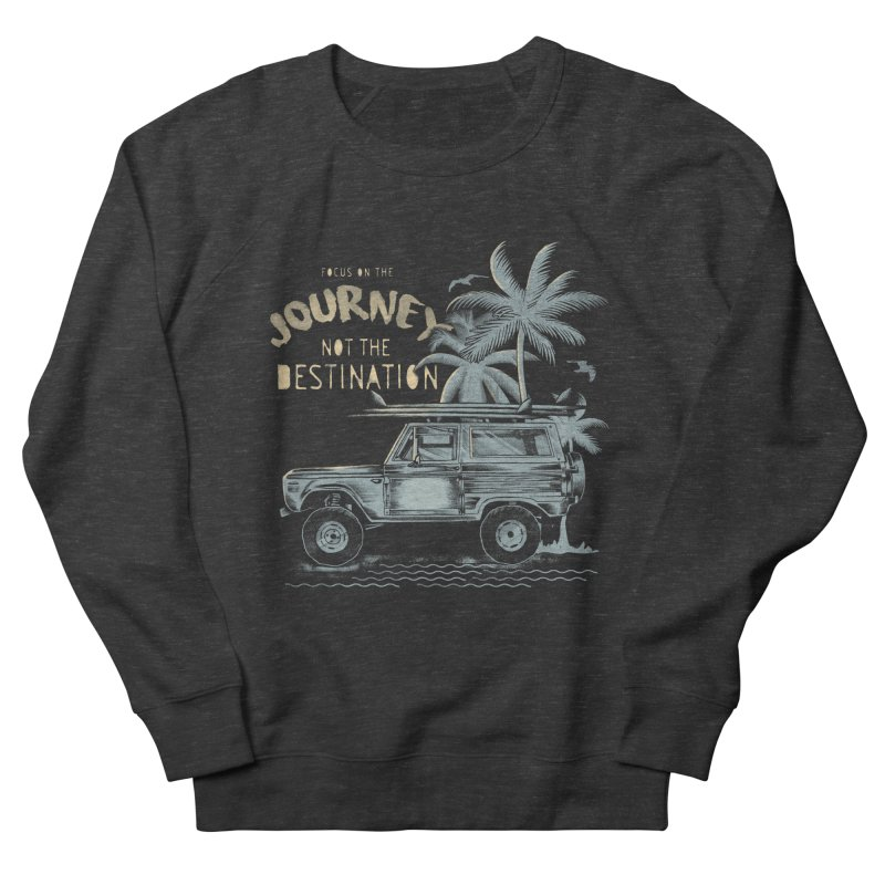 Journey Men's French Terry Sweatshirt by jackduarte's Artist Shop