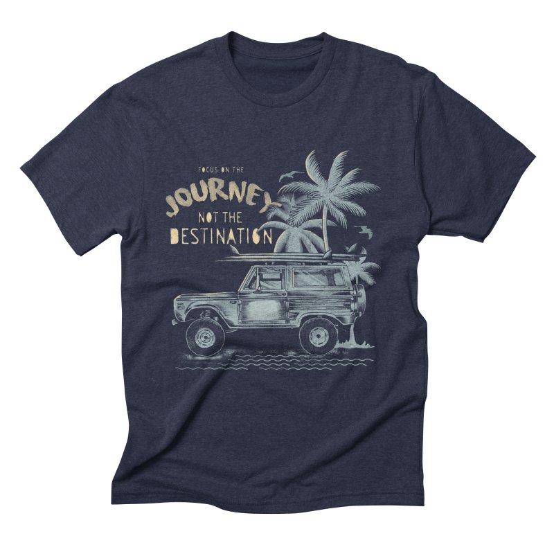 Journey Men's Triblend T-Shirt by jackduarte's Artist Shop