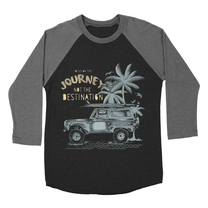 Journey Men's Baseball Triblend Longsleeve T-Shirt by jackduarte's Artist Shop