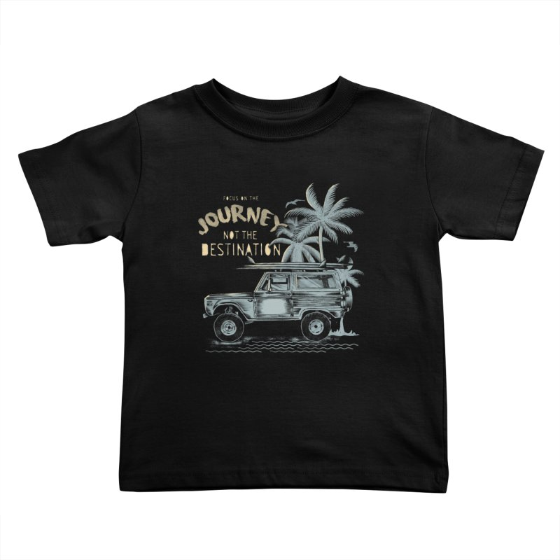 Journey Kids Toddler T-Shirt by jackduarte's Artist Shop