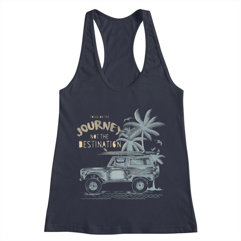 Journey Women's Racerback Tank by jackduarte's Artist Shop