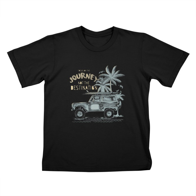 Journey Kids T-Shirt by jackduarte's Artist Shop