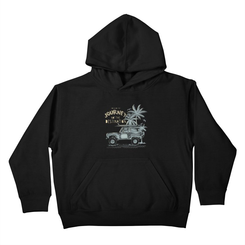 Journey Kids Pullover Hoody by jackduarte's Artist Shop