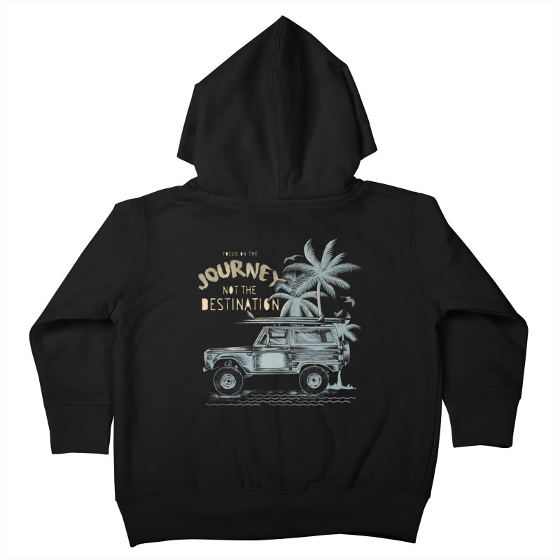 Journey Kids Toddler Zip-Up Hoody by jackduarte's Artist Shop