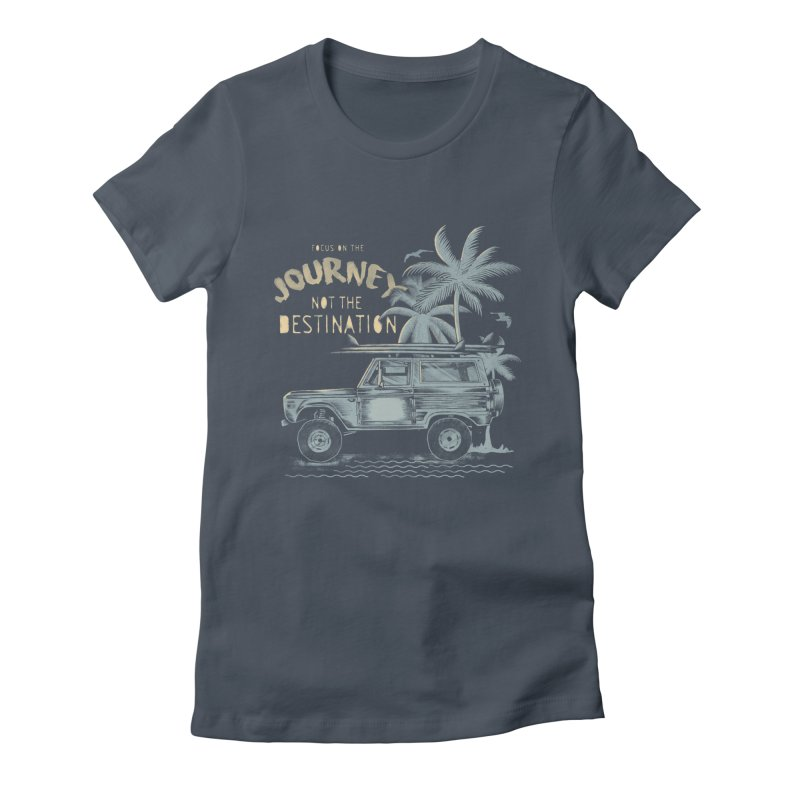 Journey Women's Fitted T-Shirt by jackduarte's Artist Shop