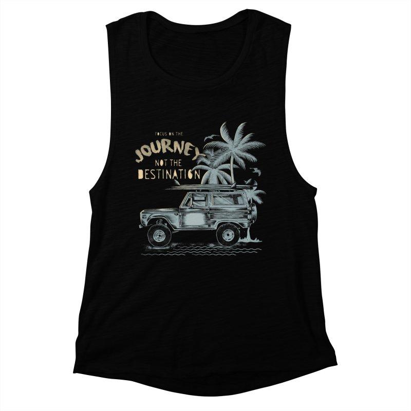 Journey Women's Muscle Tank by jackduarte's Artist Shop