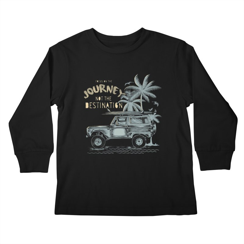 Journey Kids Longsleeve T-Shirt by jackduarte's Artist Shop