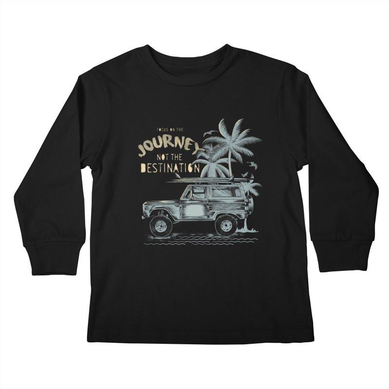 Journey Kids Longsleeve T-Shirt by jackduarte's Artist Shop