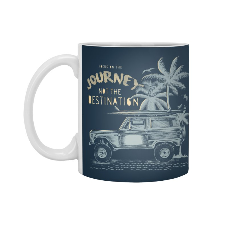 Journey Accessories Standard Mug by jackduarte's Artist Shop
