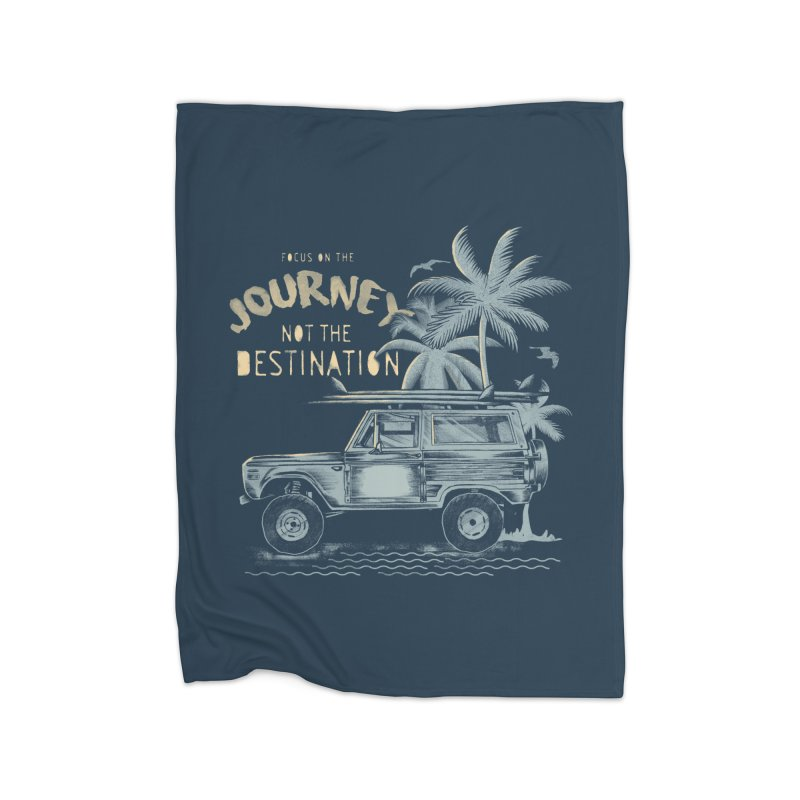 Journey Home Fleece Blanket Blanket by jackduarte's Artist Shop