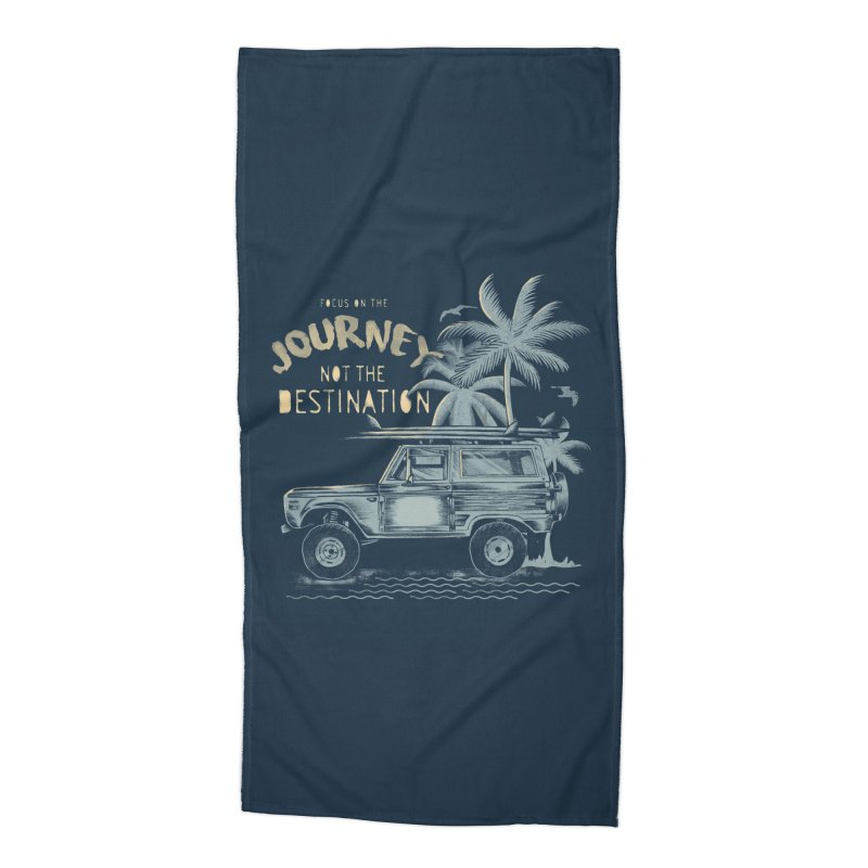 Journey Accessories Beach Towel by jackduarte's Artist Shop