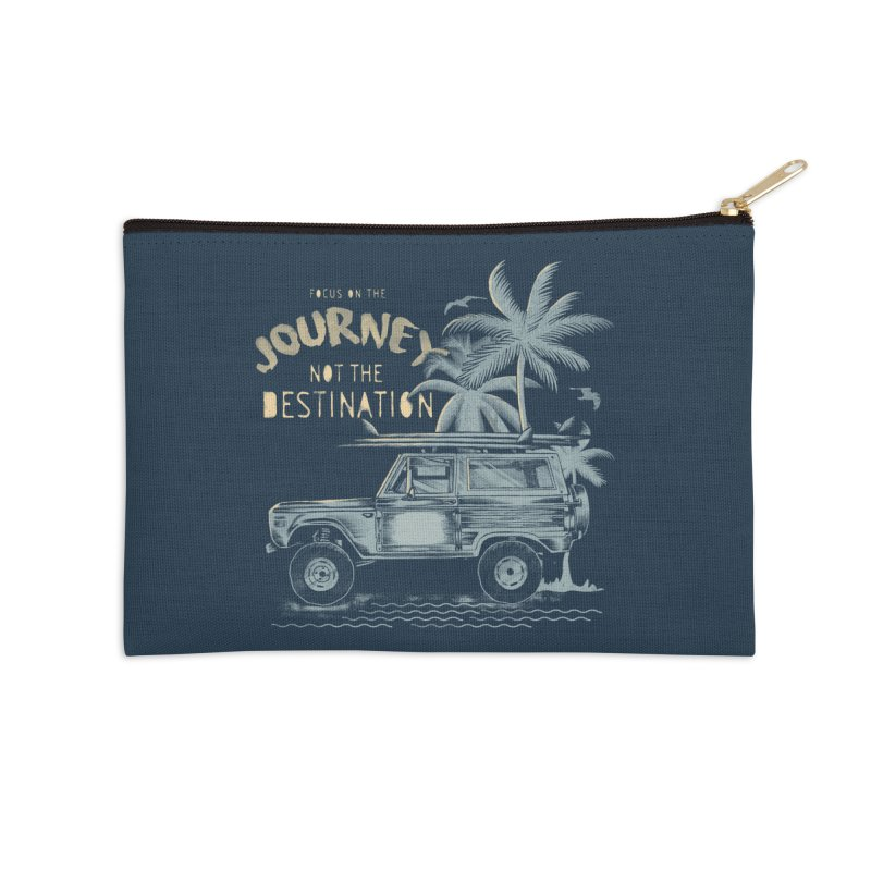 Journey Accessories Zip Pouch by jackduarte's Artist Shop