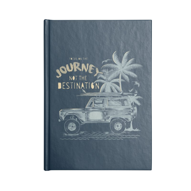 Journey Accessories Lined Journal Notebook by jackduarte's Artist Shop