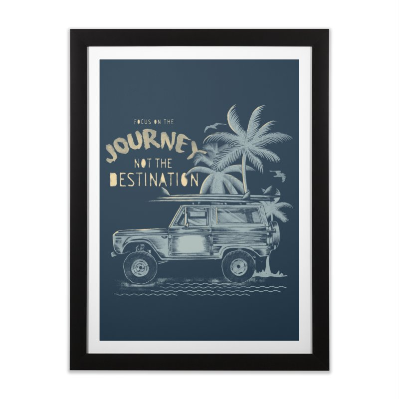 Journey Home Framed Fine Art Print by jackduarte's Artist Shop