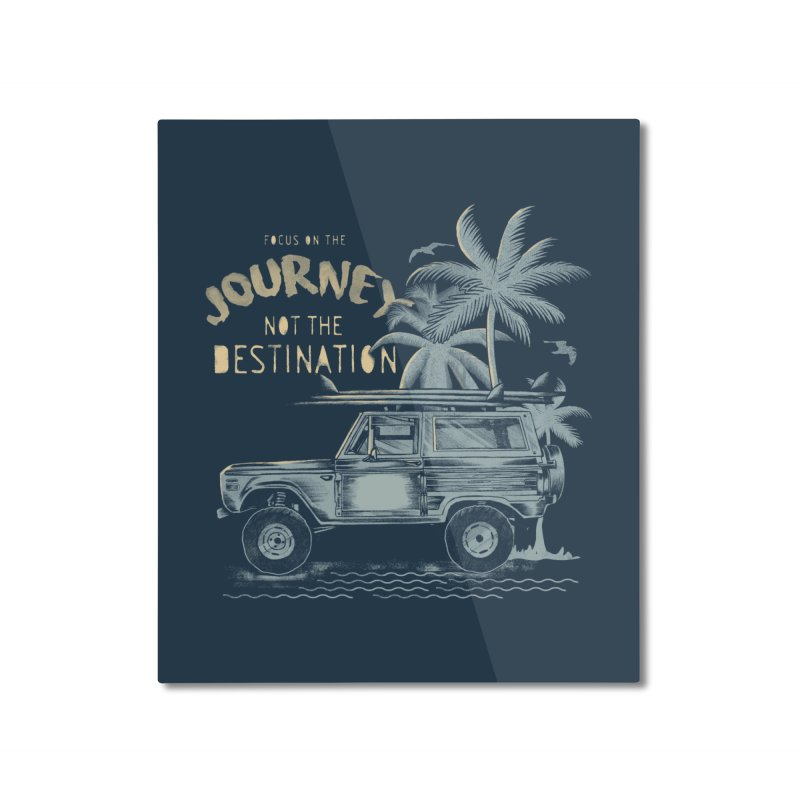 Journey Home Mounted Aluminum Print by jackduarte's Artist Shop
