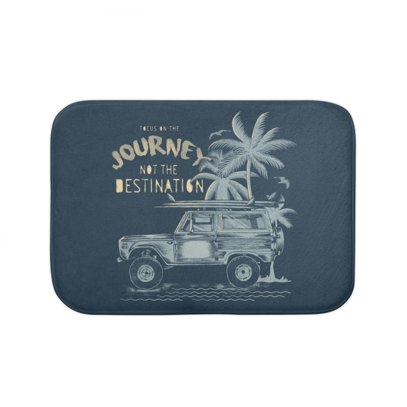 Journey Home Bath Mat by jackduarte's Artist Shop