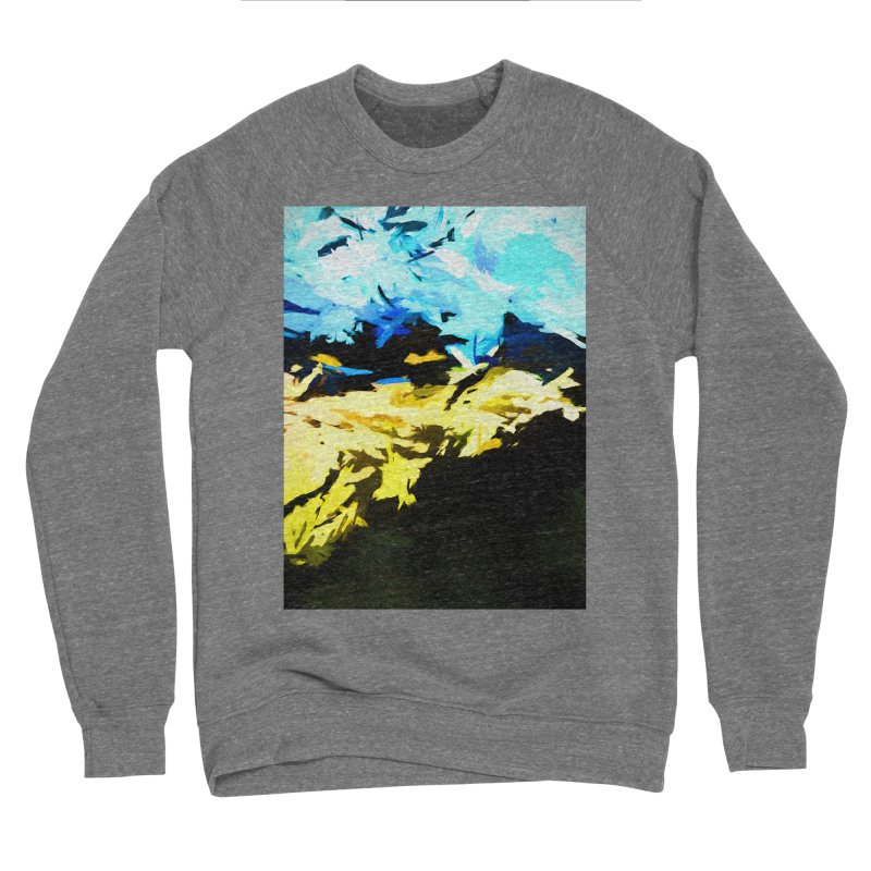Land Shake Ground Groan Men's Sponge Fleece Sweatshirt by jackievano's Artist Shop