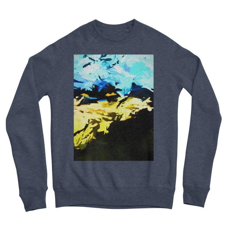 Land Shake Ground Groan Women's Sponge Fleece Sweatshirt by jackievano's Artist Shop