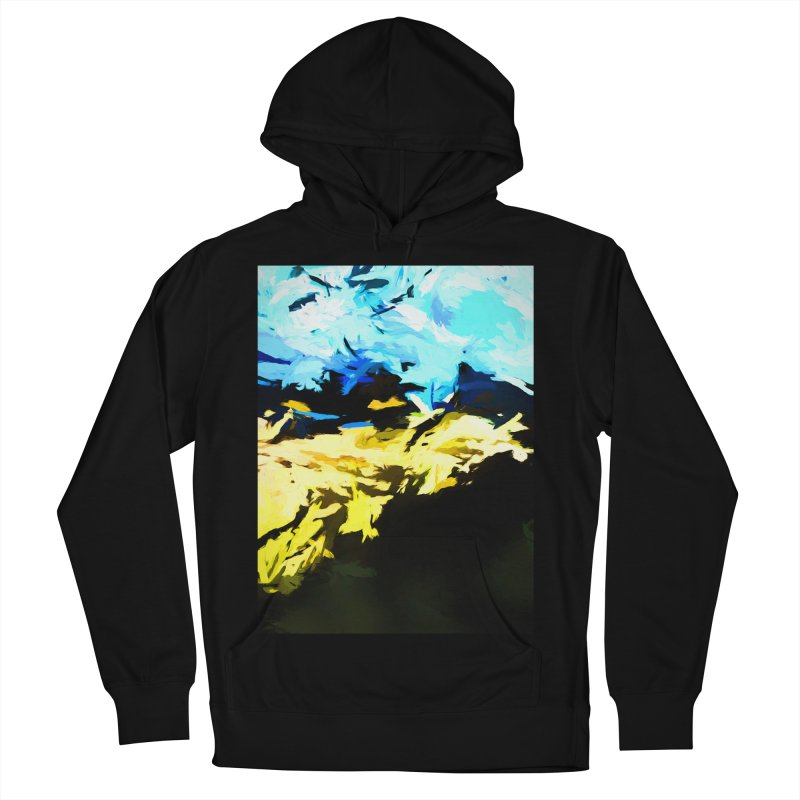 Land Shake Ground Groan Women's French Terry Pullover Hoody by jackievano's Artist Shop