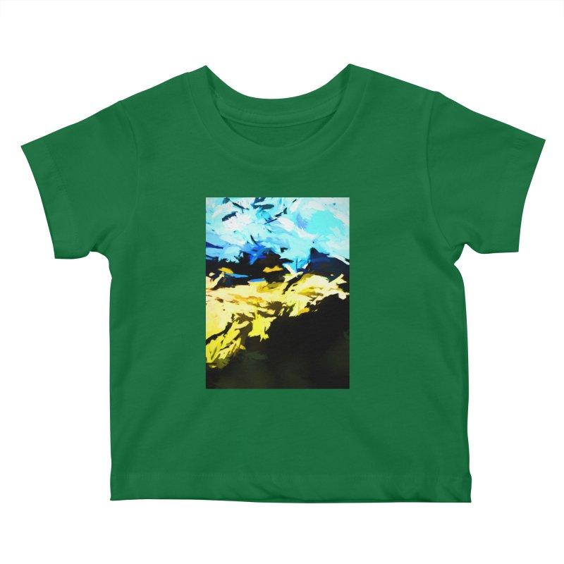 Land Shake Ground Groan Kids Baby T-Shirt by jackievano's Artist Shop
