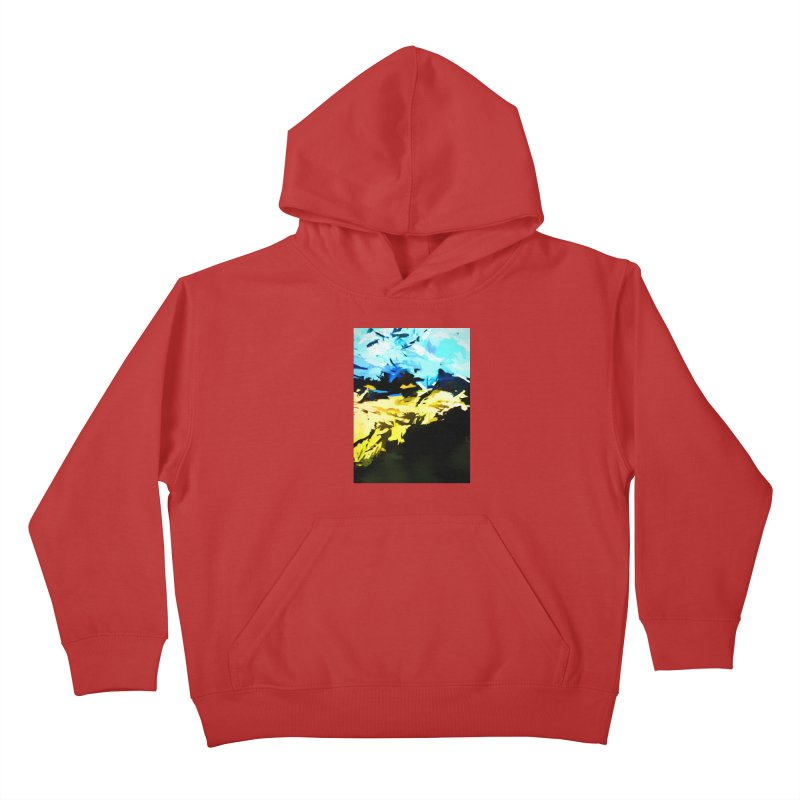 Land Shake Ground Groan Kids Pullover Hoody by jackievano's Artist Shop