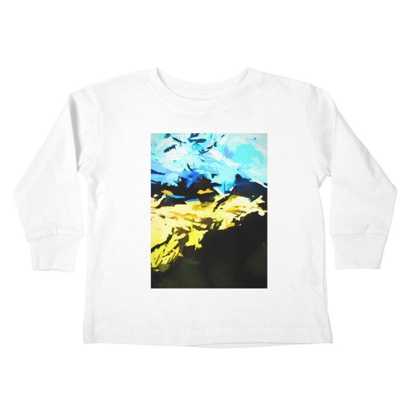 Land Shake Ground Groan Kids Toddler Longsleeve T-Shirt by jackievano's Artist Shop