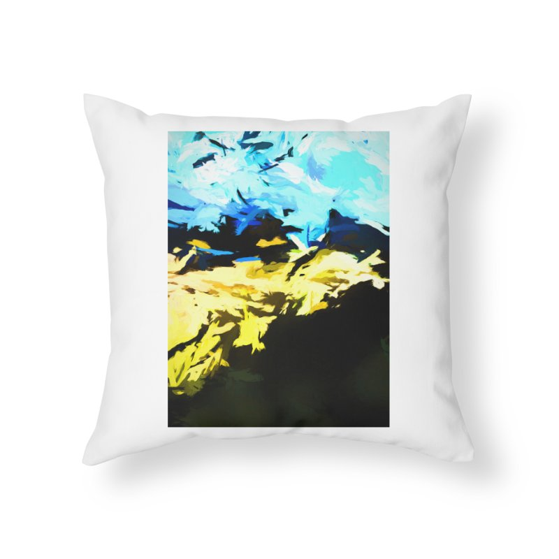 Land Shake Ground Groan Home Throw Pillow by jackievano's Artist Shop