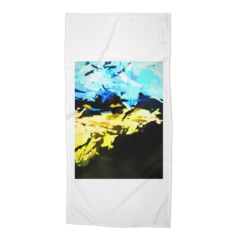 Land Shake Ground Groan Accessories Beach Towel by jackievano's Artist Shop