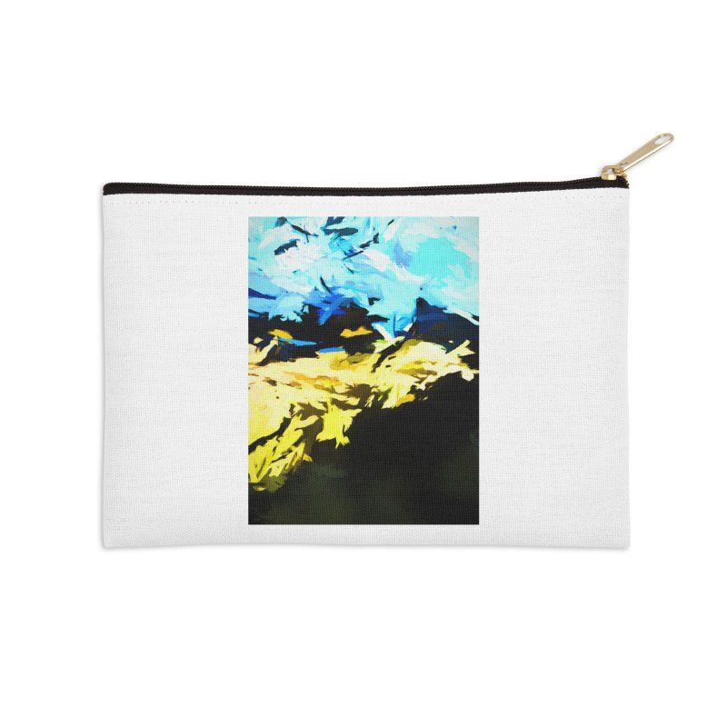 Land Shake Ground Groan Accessories Zip Pouch by jackievano's Artist Shop