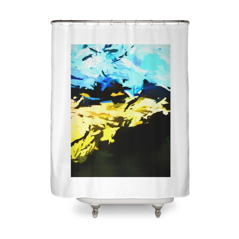 Land Shake Ground Groan Home Shower Curtain by jackievano's Artist Shop
