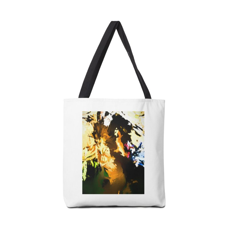 Man in the Green Shirt Eating Pizza Accessories Tote Bag Bag by jackievano's Artist Shop