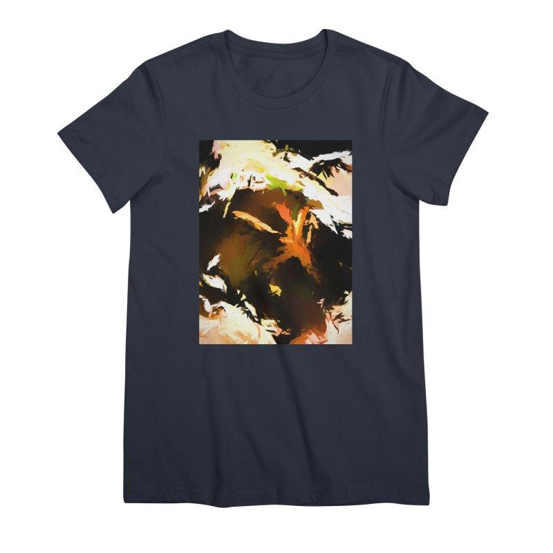 Volcano Bird Beak Lava Gag Women's Premium T-Shirt by jackievano's Artist Shop