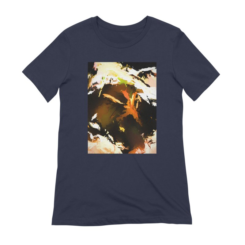 Volcano Bird Beak Lava Gag Women's Extra Soft T-Shirt by jackievano's Artist Shop