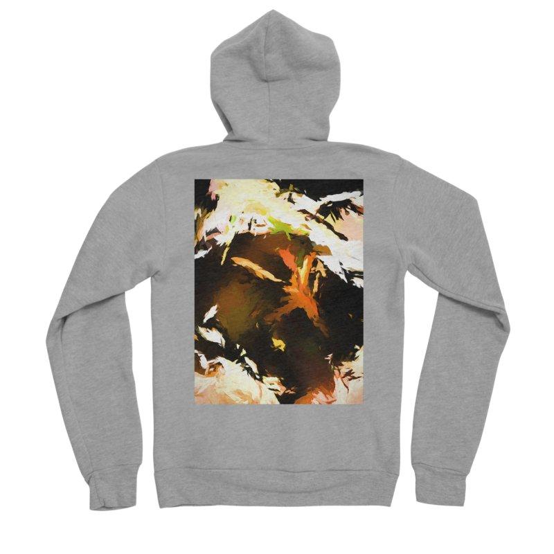 Volcano Bird Beak Lava Gag Men's Sponge Fleece Zip-Up Hoody by jackievano's Artist Shop