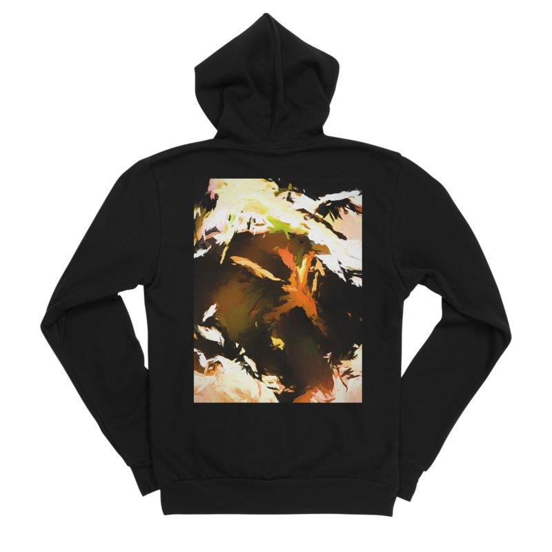Volcano Bird Beak Lava Gag Women's Sponge Fleece Zip-Up Hoody by jackievano's Artist Shop