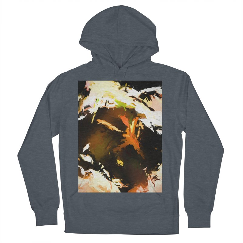 Volcano Bird Beak Lava Gag Men's French Terry Pullover Hoody by jackievano's Artist Shop
