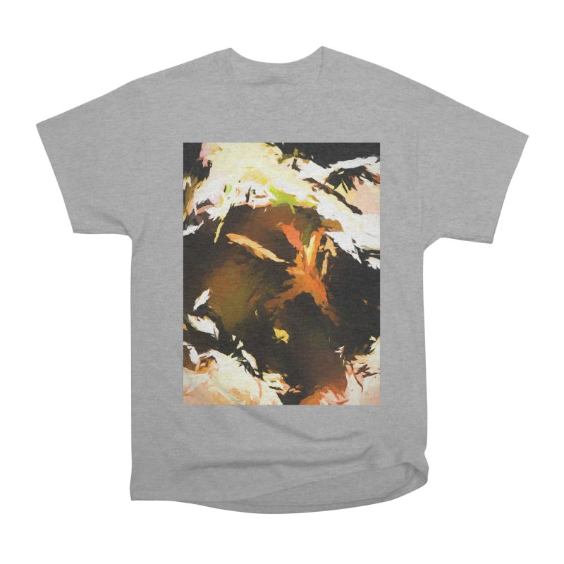 Volcano Bird Beak Lava Gag Men's Heavyweight T-Shirt by jackievano's Artist Shop