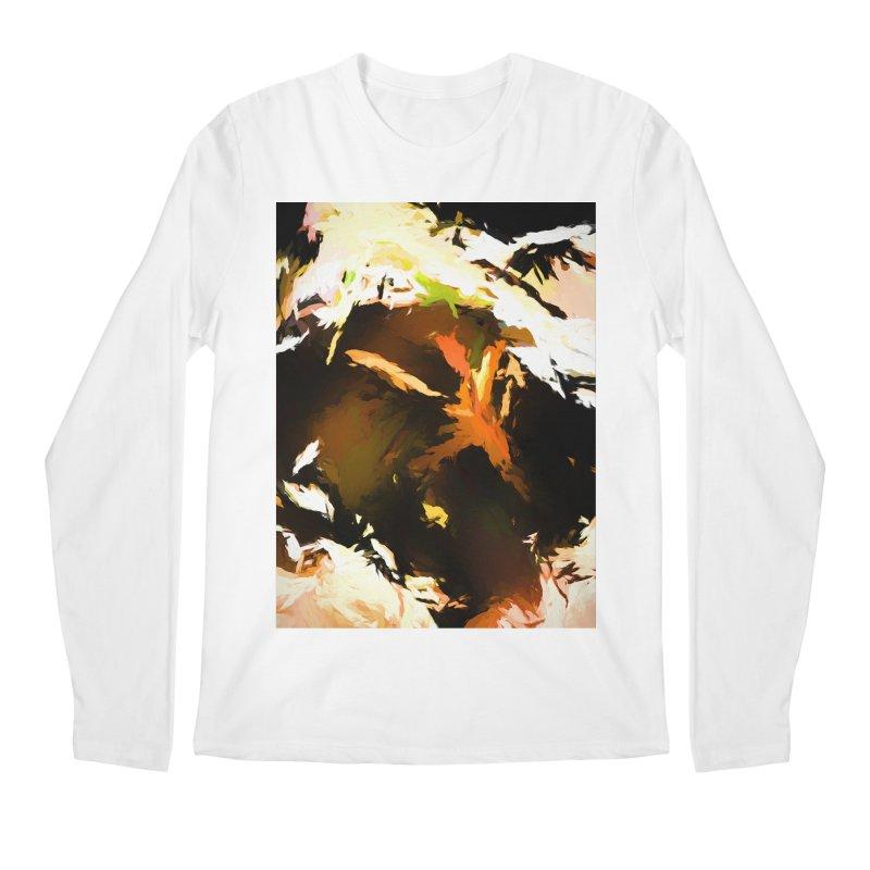 Volcano Bird Beak Lava Gag Men's Regular Longsleeve T-Shirt by jackievano's Artist Shop