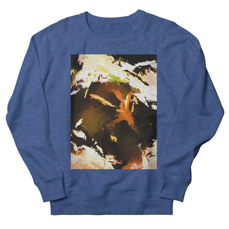 Volcano Bird Beak Lava Gag Men's French Terry Sweatshirt by jackievano's Artist Shop