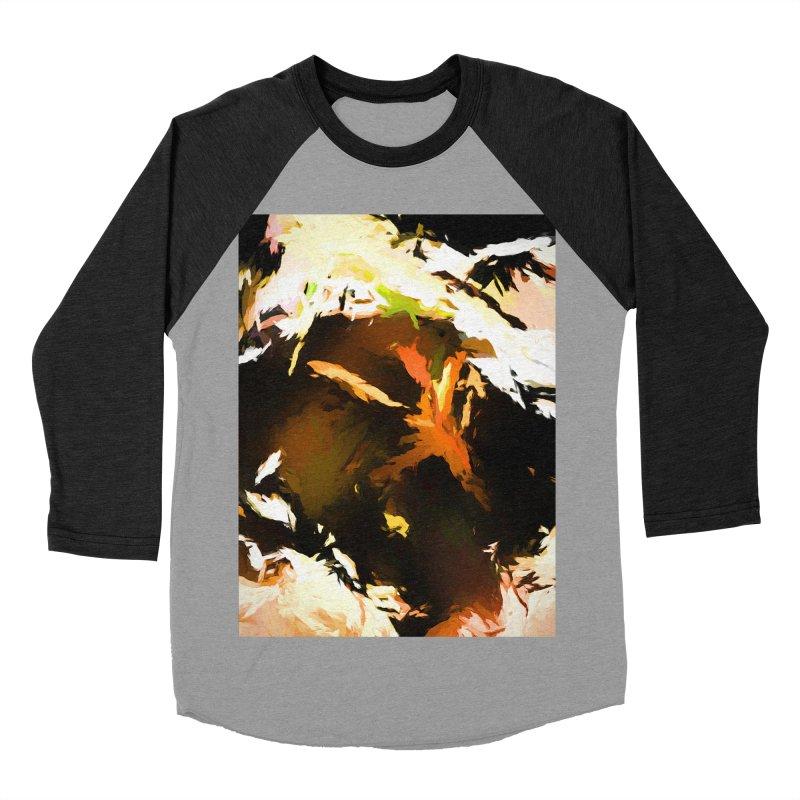 Volcano Bird Beak Lava Gag Women's Baseball Triblend Longsleeve T-Shirt by jackievano's Artist Shop