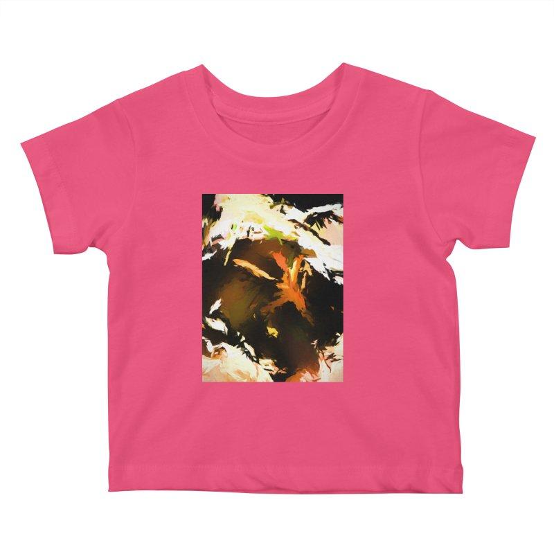 Volcano Bird Beak Lava Gag Kids Baby T-Shirt by jackievano's Artist Shop