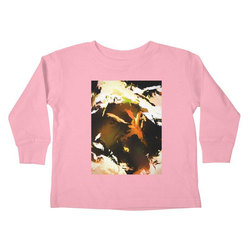 Volcano Bird Beak Lava Gag Kids Toddler Longsleeve T-Shirt by jackievano's Artist Shop